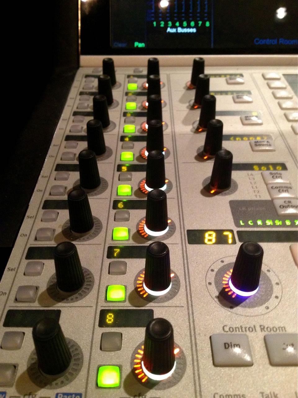 Remote Control Studio: Euphonix System 5