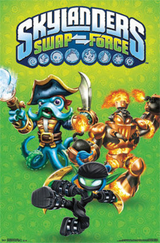 skylanders-swap-force-starter-video-game-poster