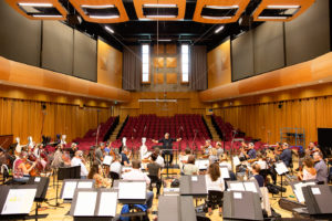 Scoring at The BBC National Orchestra of Wales